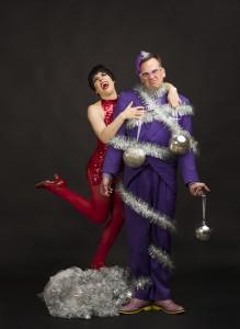 (l to r) Danielle Plisz and Scott Duff/Photo by Cheryl Mann
