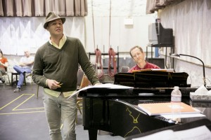 Billy Zane in rehearsal/Photo: Todd Rosenberg