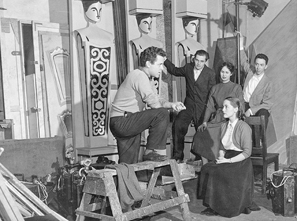 A Playwrights Theatre Club Production: Paul Sills, Charlie Jacobs, Joyce Hiller Piven, Eugene Troobnick, Estelle Luttrell.
