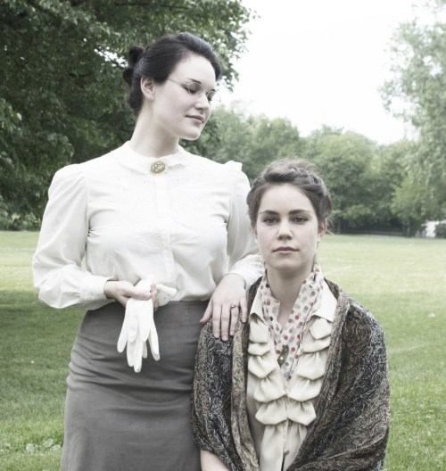 Emily Goldberg and Amanda Giles/Photo: Jeff Meyer
