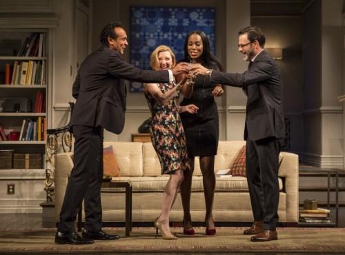 Bernard White (Amir), Nisi Sturgis (Emily), Zakiya Young (Jory) and J. Anthony Crane