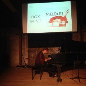 Nadia Shpachenko performs Adam Borecki's Accidental Mozart