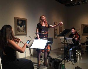 Moira Smiley with the Lyris Quartet
