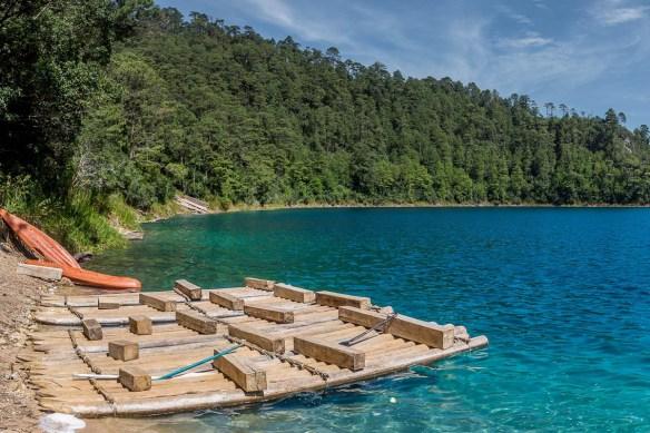 Vista al Ras del lago de Montebello
