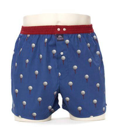 McAlson boxer m3841 blauw met golfbal
