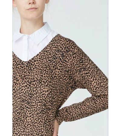 Isay_dames_Ruby_Pullover_Spotted_Black_4
