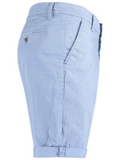 Donders lichtblauwe chino korte broek
