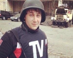 Russian journalist Anton Voloshin, killed by Ukrainian mortar fire on June 17, 2014 1
