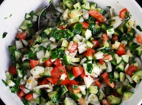 Salata Na'ameh سلطة ناعمة