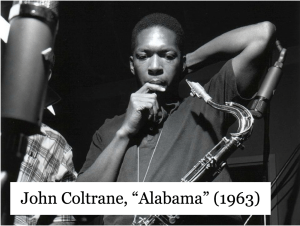 "John Coltrane, ""Alabama"" (1963)"