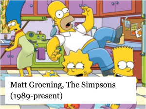 Matt Groening, The Simpsons (1989-present)