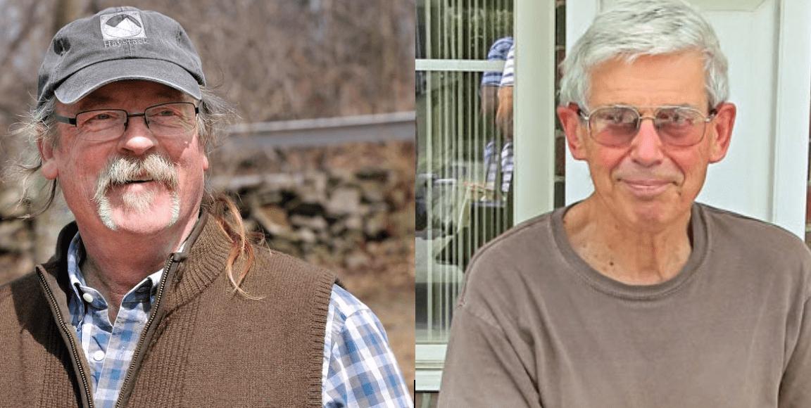Bob Kimber and Bill Roorbach