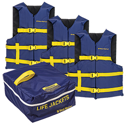 Runabout Life Jacket 3-Pack (West Marine) Image