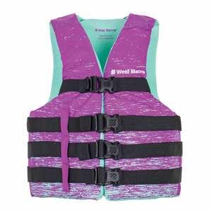 Women's Nylon Water Ski Life Jackets