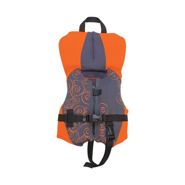 West Marine Kids' Neoprene Life Vest, Infant Neo PFD, Orange