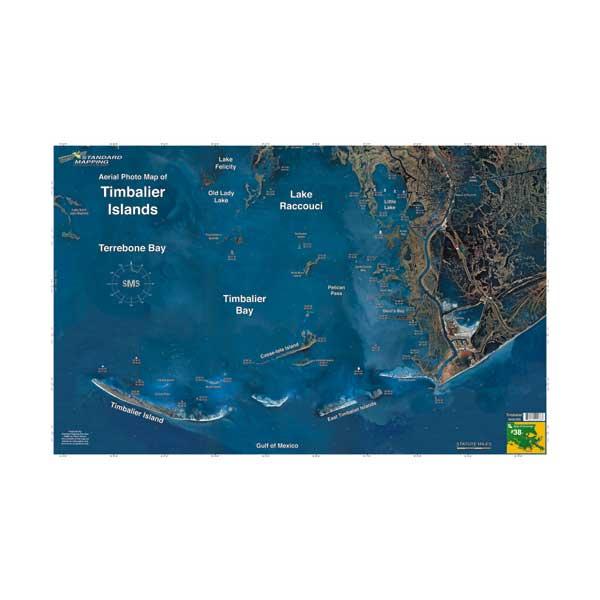 Maps Fishing Louisiana Aerial