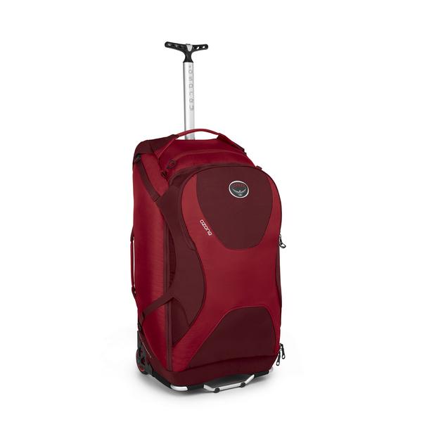 """Osprey Ozone 28"""" Rolling Luggage Red"""