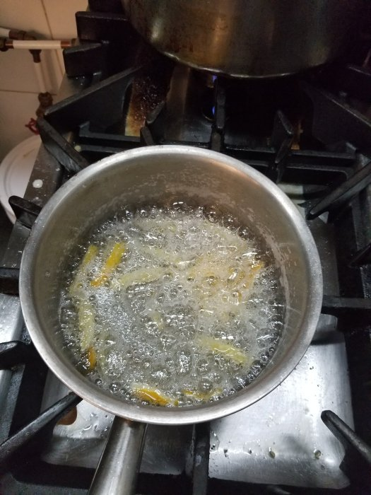 3 ingredients simple candied lemon