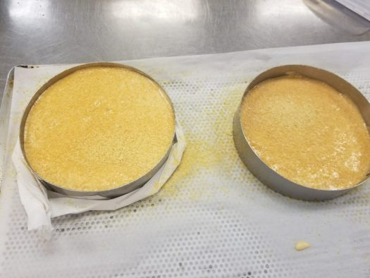 Caramel sponge