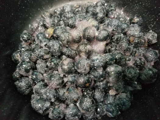 Healthy blueberry jam recipe