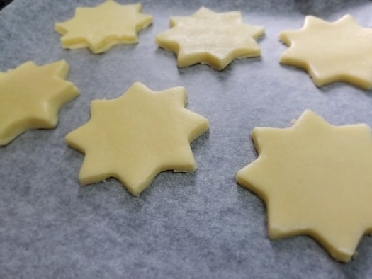 Buttery shortbread cookies recipe