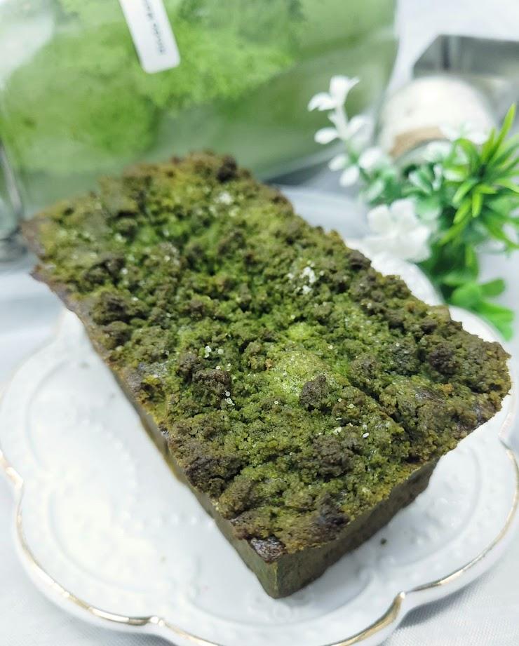 🍵日本小山園龍膽抹茶奶酥磅蛋糕