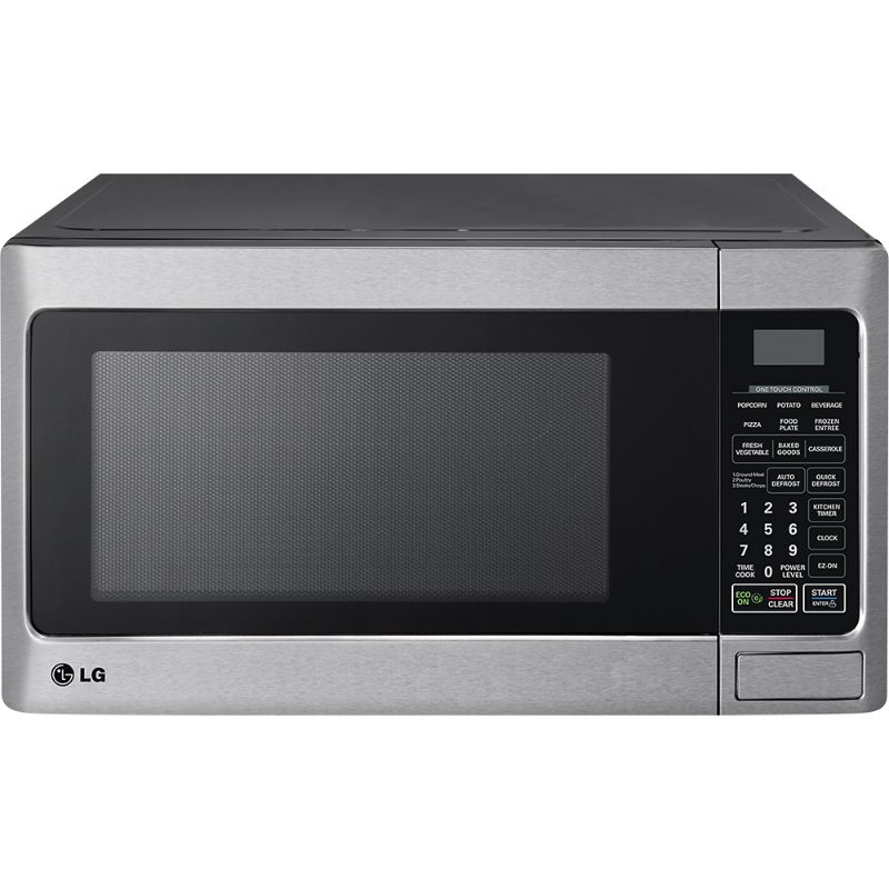 lg microwave oven countertop 1000w 1 1 cu ft lmc1050st