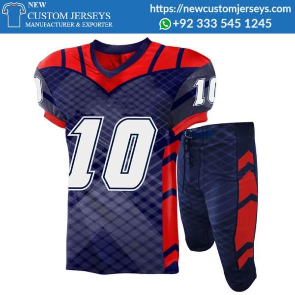 Custom American Football Uniforms