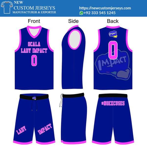 Custom Basketball Jerseys youth