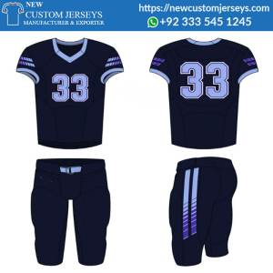 Sublimation American Football Uniforms