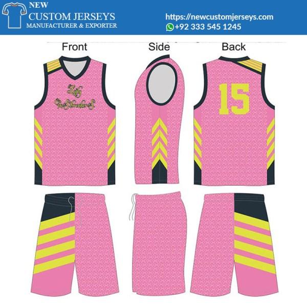 Custom womens basketball jerseys