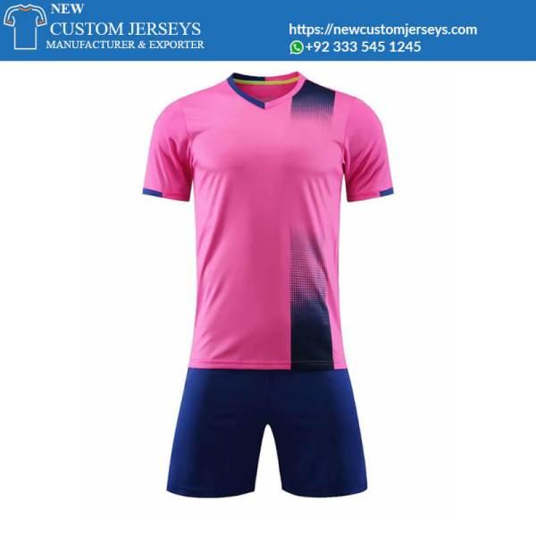 Pink Soccer Jerseys