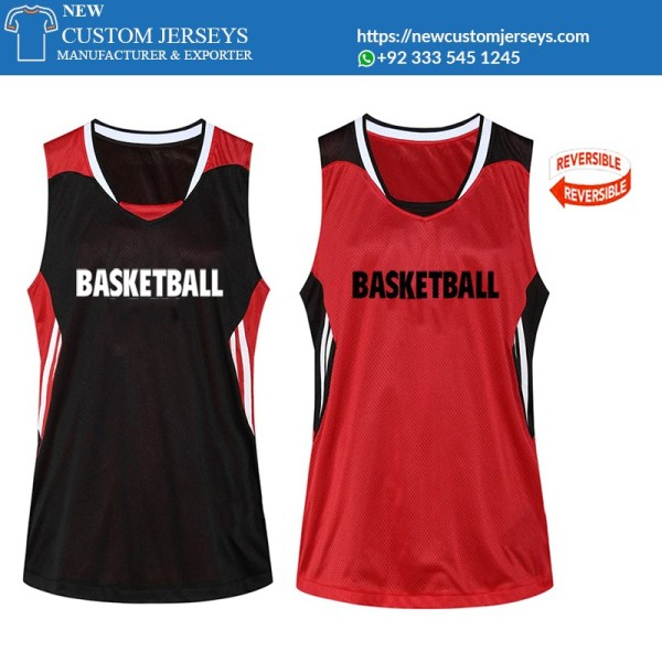reversible practice jerseys basketball