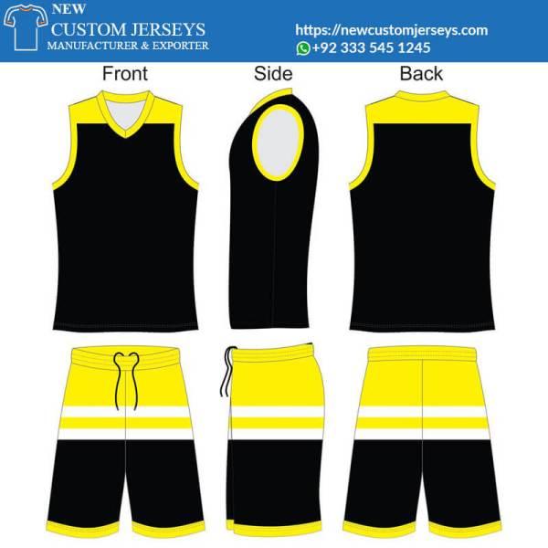 sublimated basketball uniforms