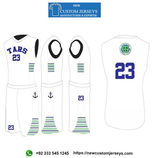 youth reversible basketball jerseys