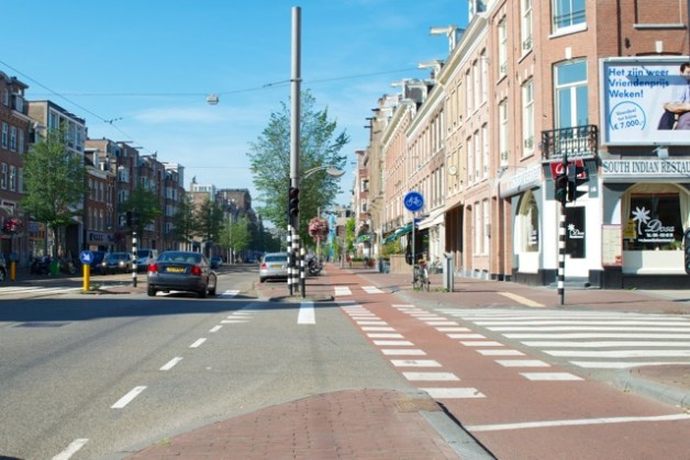 Amsterdam Side Road Crossing