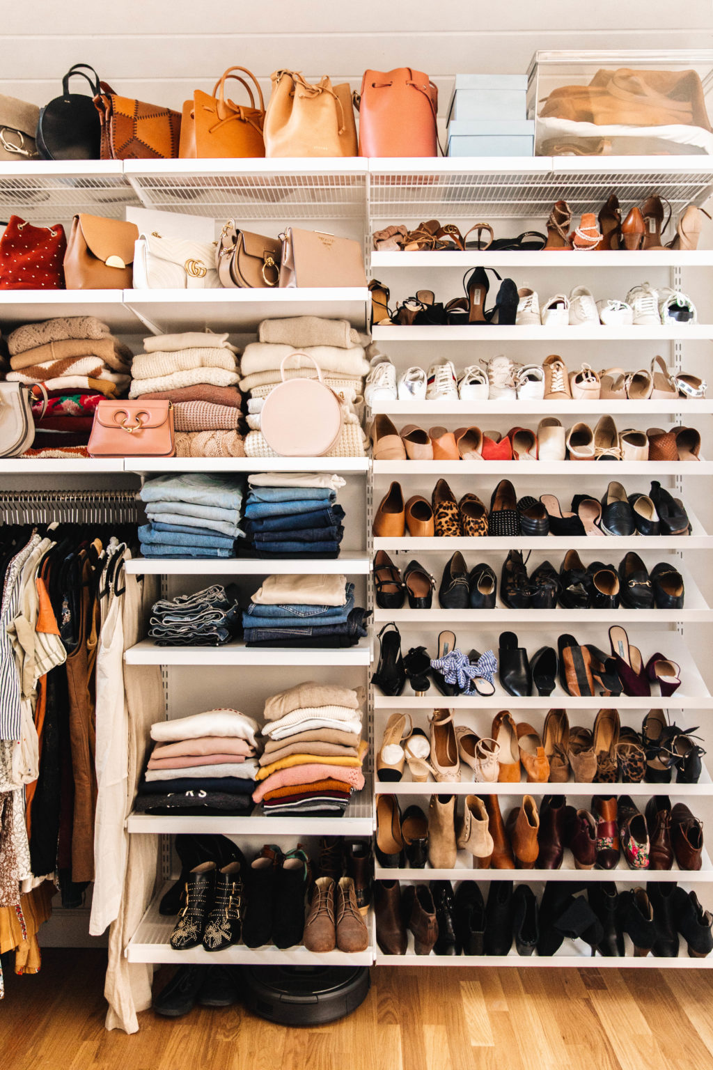 Master Closet Reveal Our His Hers Closet New Darlings