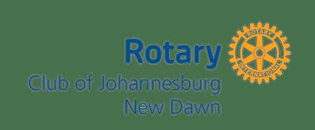 Rotary Club of Johannesburg New Dawn Logo