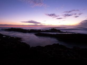 Sunset at Bethels Beach