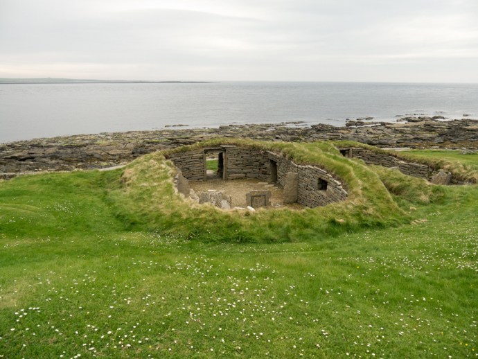 Knap of Howar: a Neolithic farmhouse inhabited between 3700 BC and 2800 BC