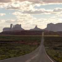 The grand finale at Monument Valley