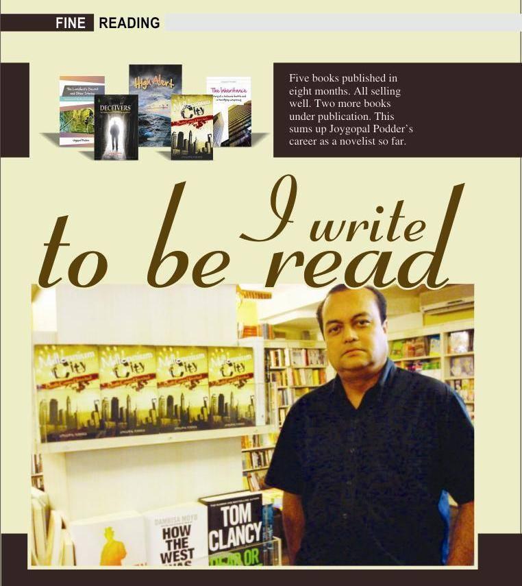 Joygopal Podder In Interview: I Write To Be Read