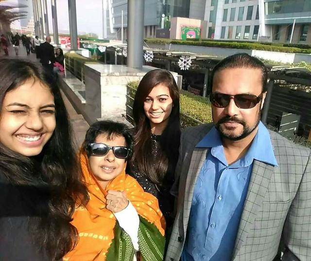 Family moment with Joygopal Podder - you can certainly freeze timeless moments