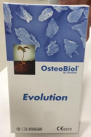 Matériaux de greffe osseuse OsteoBiol - Fabriqué en Allemagne