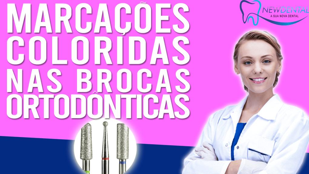 Qual o significado das marcações coloridas nas Brocas Odontológicas?
