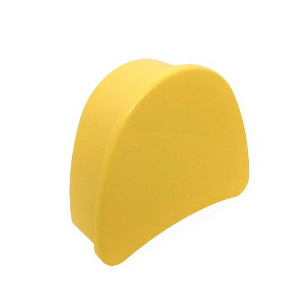estojo para aparelho ortodontico amarelo