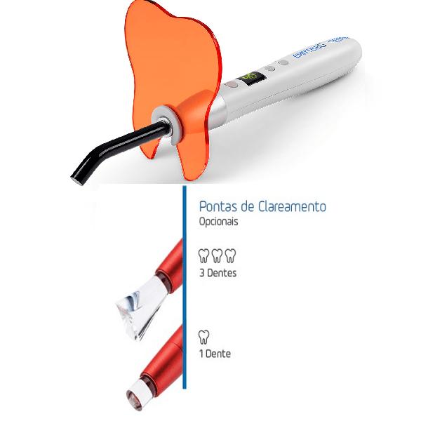 Emitter-G-Wireless-(Sem fio)-Com-Kit-de-Ponteiras-de-Clareamento