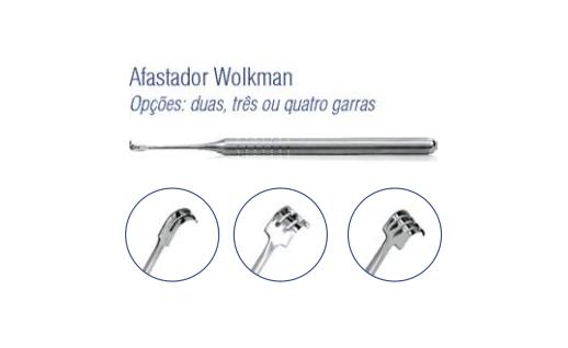 Afastador Wolkman 2 garras - Harte