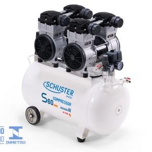 Compressor Odontológico Silencioso S60 Max