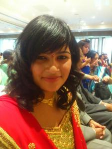 female indian person
